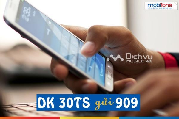 dang ky goi 30TS Mobifone
