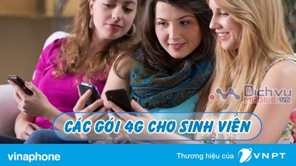 Hướng dẫn đăng ký gói 4G Vinaphone cho sim sinh viên
