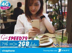 Hướng dẫn đăng ký gói 4G SPEED79 mạng Vinaphone