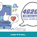 Cách đăng ký gói 4G200 Viettel nhận ưu đãi 10GB data mỗi tháng