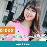 Đăng ký gói cước DK0 Viettel miễn phí gọi, sms đến 02 số thuê bao