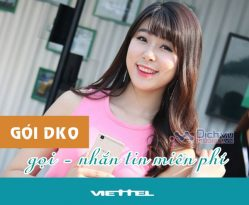 Đăng ký gói khuyến mãi DK0 Viettel