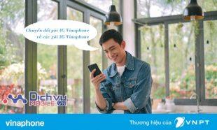 Hướng dẫn chuyển đổi từ gói 4G Vinaphone về các gói 3G