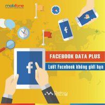 Lướt Facebook cực đã cùng các gói FA, 3FA, 6FA và 12FA Mobifone