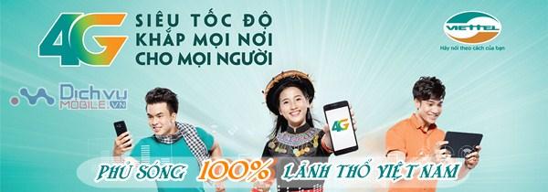 Thông tin chính xác nhất về vùng phủ sóng mạng 4G Viettel tại Việt Nam
