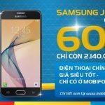 HOT! MobiFone khuyến mãi giảm giá bán Samsung Galaxy J7 Prime hơn 60% giá trị