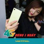 Hướng dẫn đăng ký gói 4G dùng 1 ngày mạng Viettel