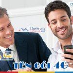 Cách kiểm tra tên gói cước 4G Mobifone thuê bao đang dùng