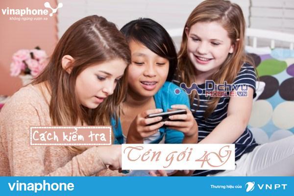 Cách kiểm tra tên gói cước 4G Vinaphone thuê bao đang dùng