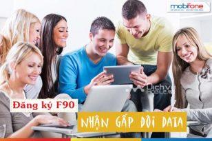 Khuyến mãi đăng ký gói F90 Mobiofne nhân đôi data