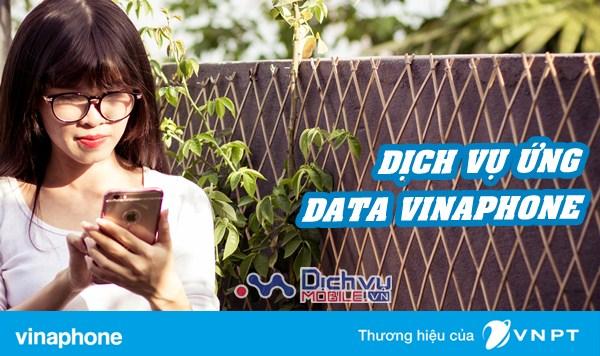 Cách ứng dung lượng 3G dễ dàng với dịch vụ ứng data Vinaphone