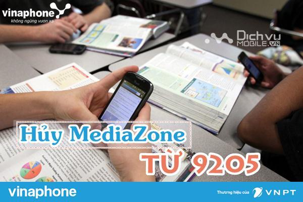 Cách hủy dịch vụ mediazone Vinaphone