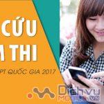 Hướng dẫn tra cứu điểm thi THPT Quốc gia 2017 chính xác nhất