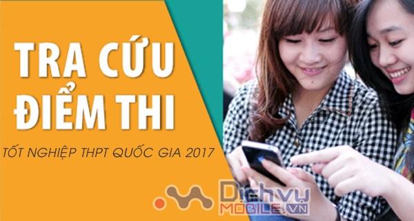 Huong dan cau truc tra cuu diem thi THPT Quoc gia 2017 chinh xac nhat