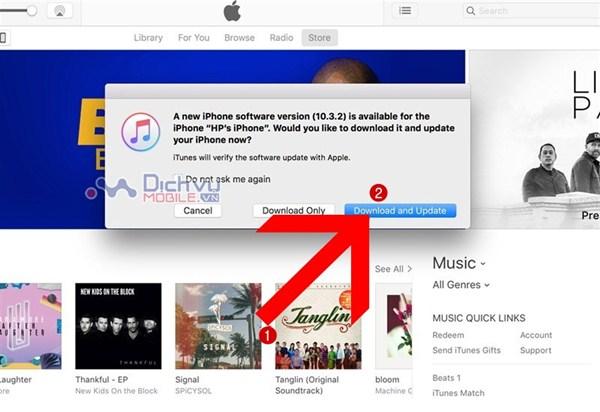 Hướng dẫn Update iOS 10.3.3 tiết kiệm thời lượng Pin, chạy mượt hơn