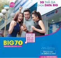 Đăng ký gói data Big70 Vinaphone