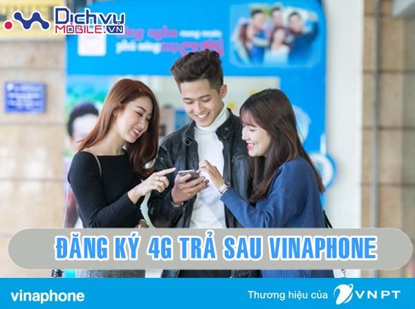 Hướng dẫn đăng ký các gói 4G cho thuê bao Vinaphone trả sau 2018