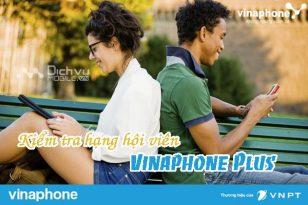 Cách kiểm tra hạng hội viên Vinaphone Plus