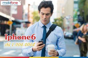 Mobifone khuyến mãi bán Iphone 6 chỉ với 1 triệu đồng