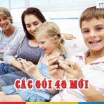 Mobifone chính thức cung cấp các gói 4G mới với ưu đãi siêu khủng