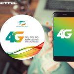Hướng dẫn đăng ký các gói cước 4G Viettel trọn gói ưu đãi data khủng 2018