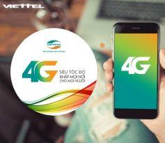 Hướng dẫn đăng ký gói cước 4G trọn gói mạng Viettel