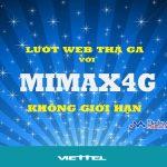 Đăng ký gói Mimax4G Viettel dùng 4G trọn gói chỉ 90.000đ tháng