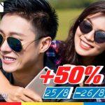 Mobifone khuyến mãi 50% giá trị thẻ nạp ngày 25 và 26/8/2017