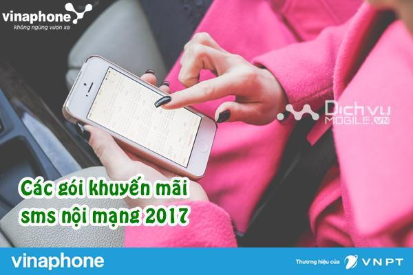 cac goi khuyen mai sms noi mang vinaphone 2017