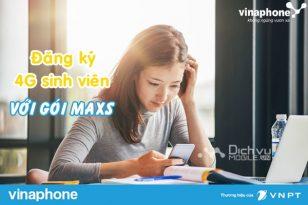 Đăng ký gói 4G MAXS Vinaphone sinh viên