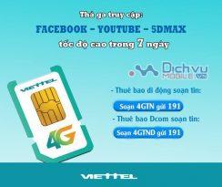 Cách trải nghiệm 4G miễn phí trong 7 ngày cho thuê bao mạng Viettel