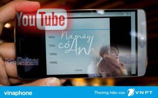 Hướng dẫn đăng ký gói cước Youtube mạng Vinaphone