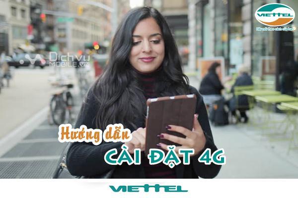Cài đặt 4G Vinaphone