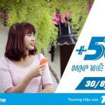 Vinaphone khuyến mãi 50% giá trị nạp Ezpay vào ngày 30/8/2017