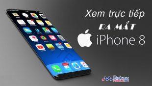 Cách xem trực tiếp sự kiện ra mắt iPhone8 của Apple trên tất cả các thiết bị
