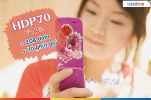 Hướng dẫn đăng ký gói cước 4G HDP70 của Mobifone