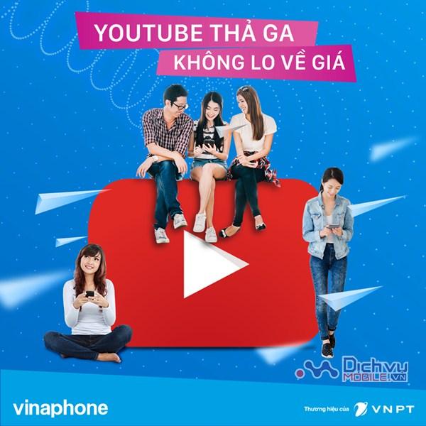 Đăng ký gói Youtube Vinaphone, lướt Youtube tẹt ga chỉ từ 10,000đ