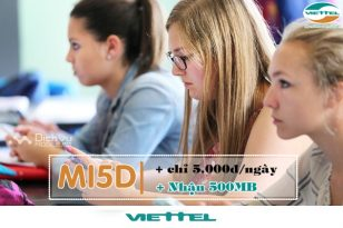 Cách đăng ký gói MI5D Viettel