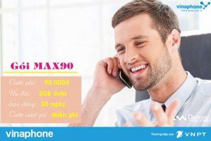 Hướng dẫn đăng ký gói 4G Max90 Vinaphone