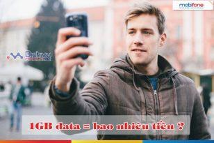 Nếu không đăng ký 3G Mobifone thì 1GB data bạn phải trả bao nhiêu?