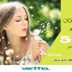 Viettel khuyến mãi 50% giá trị thẻ nạp đến hết ngày 30/11/2017