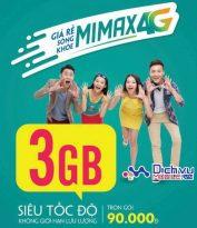 Viettel nâng ưu đãi gói Mimax4G lên 3GB chỉ 90,000đ từ 20/11