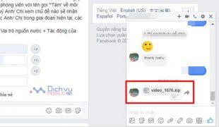 Cách xử lý và chống mã độc gửi File Video hàng loạt trên Facebook Messenger