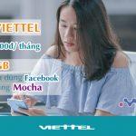 Cách đăng ký gói OMG Viettel ưu đãi 4GB data, miễn phí lướt Face, Mocha