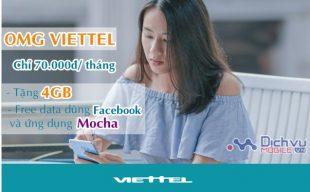 Viettel triển khai gói OMG ưu đãi siêu Sock cho thuê bao học sinh, sinh viên