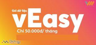 Đăng ký gói vEasy Vietnamobile tặng tiền, dung lượng lên đến 60GB