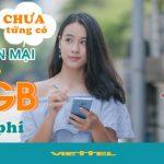 Cách nhận 15GB data 4G miễn phí từ Viettel với gói cước DATATN