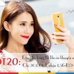 Cách đăng ký gói cước DT20 Mobifone sử dụng 3G bằng tài khoản khuyến mãi