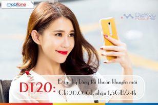 Đăng ký gói DT20 Mobifone