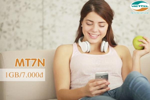 Hướng dẫn đăng ký gói MT7N Viettel